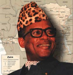 Mebutu Sese Seko is not Jeb Lund